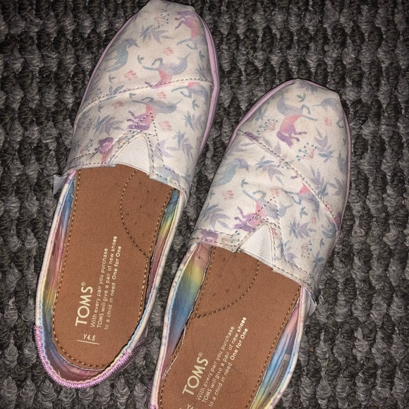 Toms Shoes | Unicorn Youth 45womens 65
